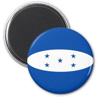 Flaggen-Magnet Hondurass Fisheye Runder Magnet 5,1 Cm