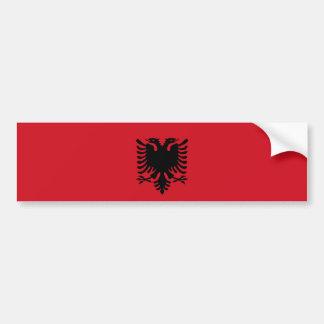 Flaggen-Nationssymbol Albanien-Landes langes Autoaufkleber