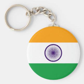 Flaggennations-Symbolrepublik Indien-Landes lange Schlüsselanhänger