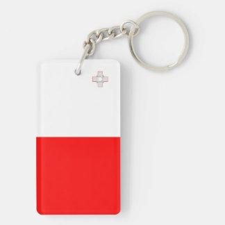 Flaggennations-Symbolrepublik Malta-Landes lange Schlüsselanhänger