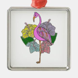 Flamigo Silbernes Ornament