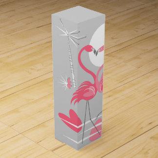 Flamingo-Liebeweinkasten Weinbox