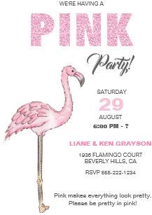 Rosa Flamingo Einladungen | Zazzle.at