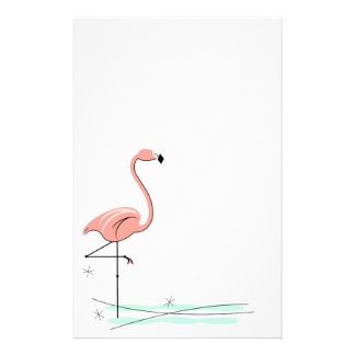 Flamingobriefpapier Briefpapier