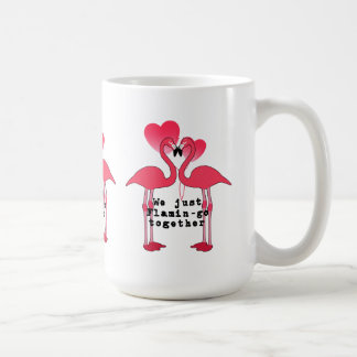 FlamingoTasse zusammen Valentines Tages Kaffeetasse