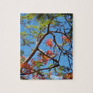 Flammen-Baum Puzzle