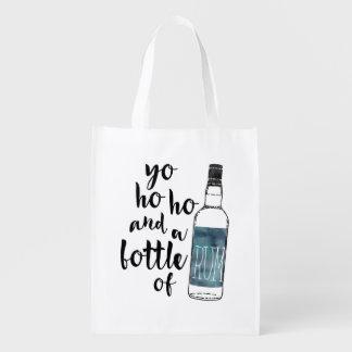 Flasche der Rum-wiederverwendbaren Tasche Tragetaschen