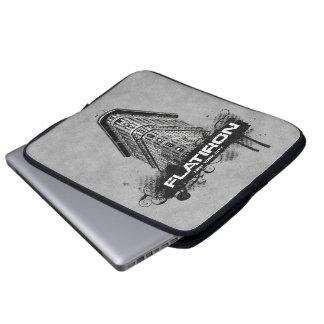 Flatiron Gebäude-New- York Citylaptop-Hülse Laptop Sleeve