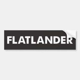 Flatlander Autoaufkleber