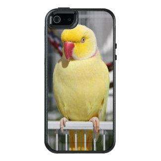 Flaumiger Lutino Inder Ringneck Parakeet OtterBox iPhone 5/5s/SE Hülle