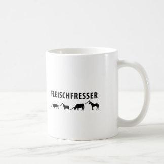 Fleischfresser Ikone Tasse