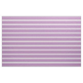 Flieder Stripes kundenspezifisches Gewebe Stoff