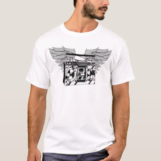 Fliegen Boombox T - Shirt