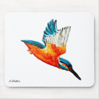 Fliegen-Eisvogel-Kunst Mauspad