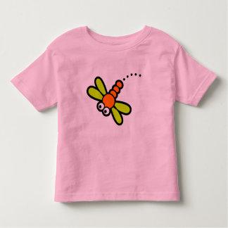 Fliegen-Insekt Kleinkinder T-shirt