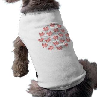 Fliegen-Schweinhaustierkleidung Shirt