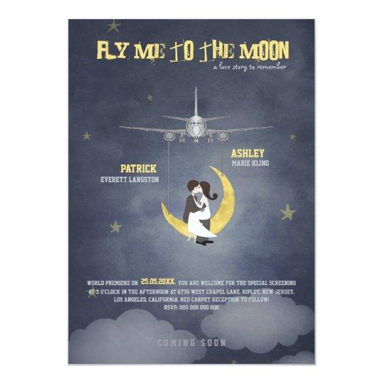 Fliegen Sie mich zur Hochzeit des Mond-2 - Karte