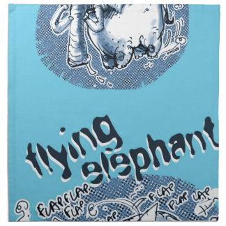 Fliegenelefant Serviette
