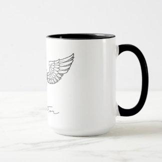Flieger durch arabischer Kaffee-Tasse Tasse