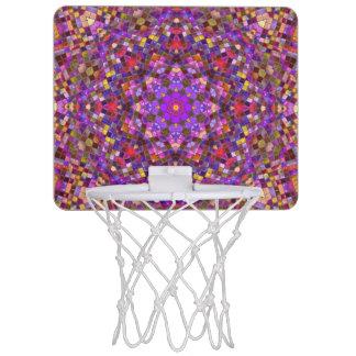Fliesen-Art-Muster-Minibasketball-Ziel Mini Basketball Netz
