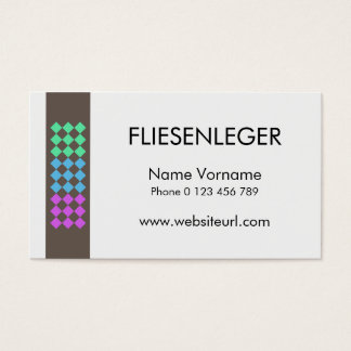 Fliesenleger visitenkarte  Verleger Visitenkarten | Zazzle.at