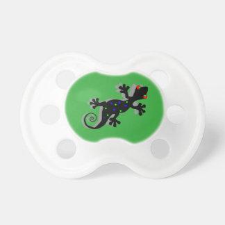 Flippiger Gecko - lustige Babyparty-Geschenke Schnuller