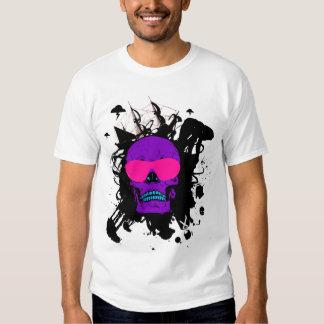 Flippiger Schädel T-Shirt