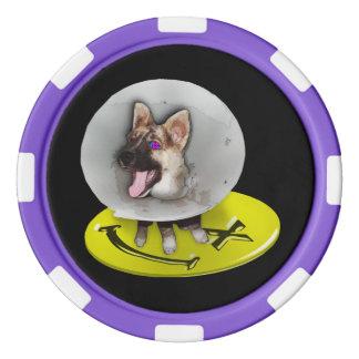 Flockige Todesmaschine - Poker-Chips Poker Chips
