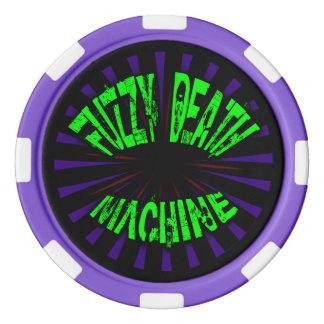 Flockige Todesmaschine - Poker-Chips Pokerchips