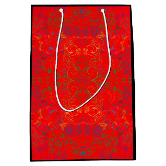Floradore - Rot Mittlere Geschenktüte
