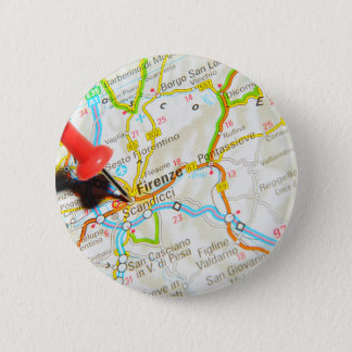 Florenz, Firenze, Italien Runder Button 5,7 Cm