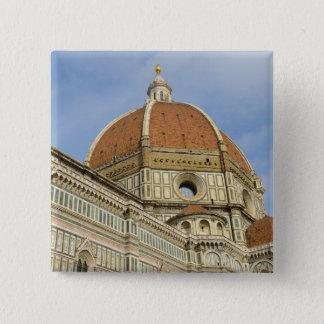 Florenz Italien Duomo Quadratischer Button 5,1 Cm