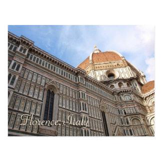 Florenz Italien Duomo-Reise-Foto Postkarte