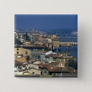 Florenz, Italien Quadratischer Button 5,1 Cm