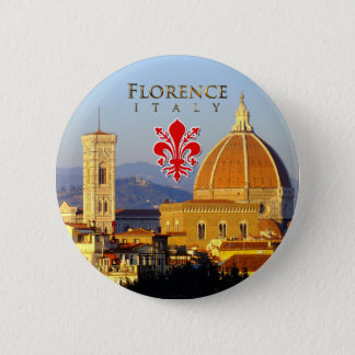 Florenz, Italien - Santa Maria Del Fiore Runder Button 5,7 Cm