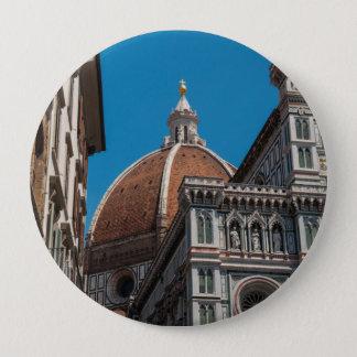 Florenz oder Firenze Italien Duomo Runder Button 10,2 Cm