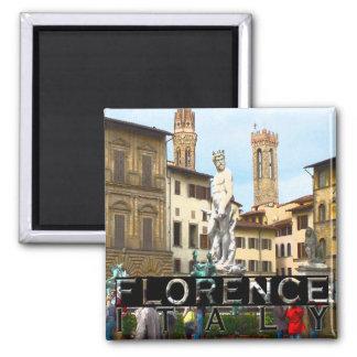 Florenz Quadratischer Magnet