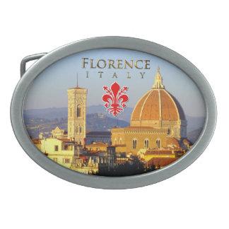 Florenz - Santa Maria Del Fiore Ovale Gürtelschnallen