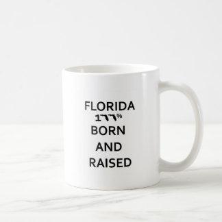 Florida 100% geboren und angehoben tasse