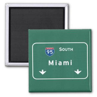 Florida-Autobahn-Autobahn Miamis Florida: Quadratischer Magnet