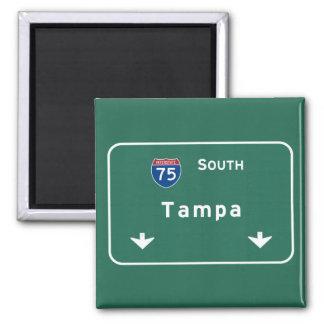 Florida-Autobahn-Autobahn Tampas Florida: Quadratischer Magnet