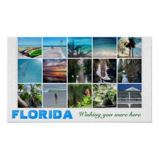 Florida, das Sie wünscht, war hier Poster