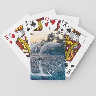 Florida-Delphin-Spielkarten Spielkarten