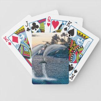 Florida-Delphine Bicycle Spielkarten