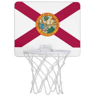 Florida-Flagge Mini Basketball Ring