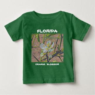 Florida-Orangen-Blüte Baby T-shirt