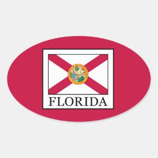 Florida Ovaler Aufkleber