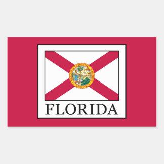 Florida Rechteckiger Aufkleber