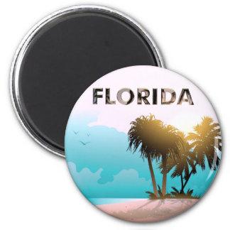 Florida Runder Magnet 5,1 Cm