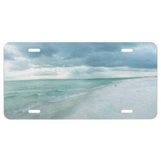 Florida-Strand US Nummernschild